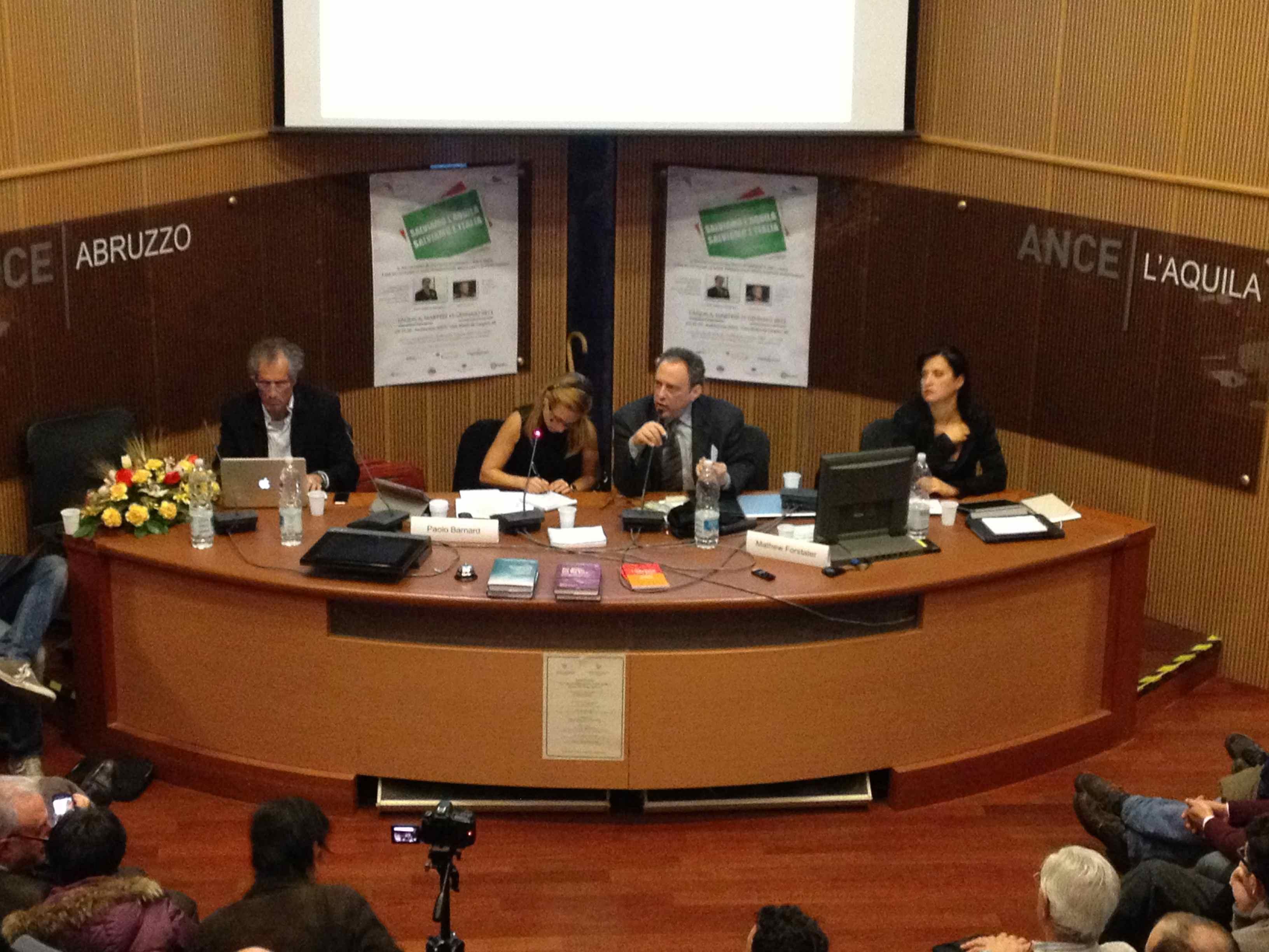 Convegno MMT a L'Aquila
