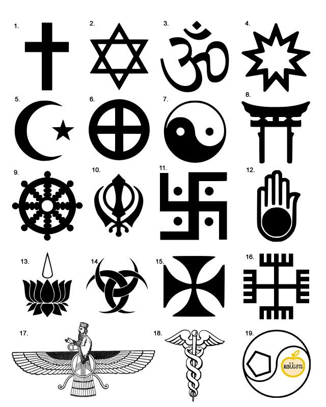 loghi-delle-religioni-numerate