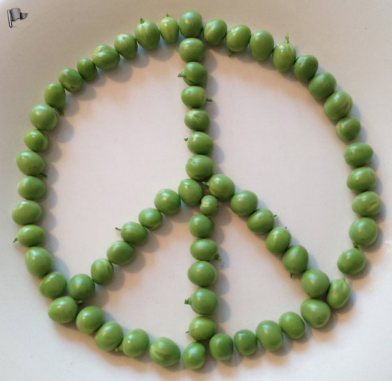 Peas for Peace 2013