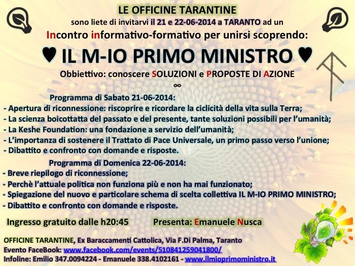2 Taranto Locandina 21-06-2014