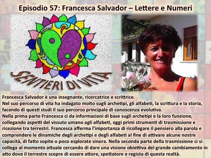PDC057 Francesaca Salvador - Lettere e Numeri