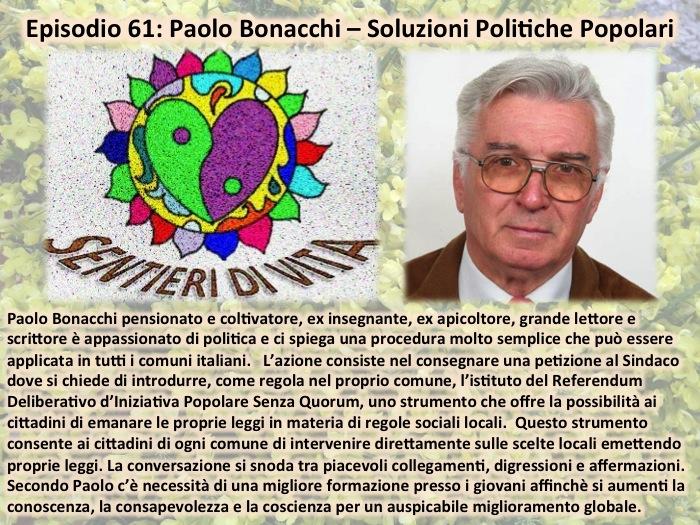 PDC061 Paolo Bonacchi - Soluzioni Comunali