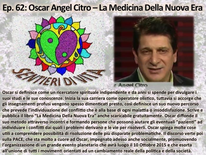 PDC062 Oscar Angel Citro - La Medicina della Nuova Era