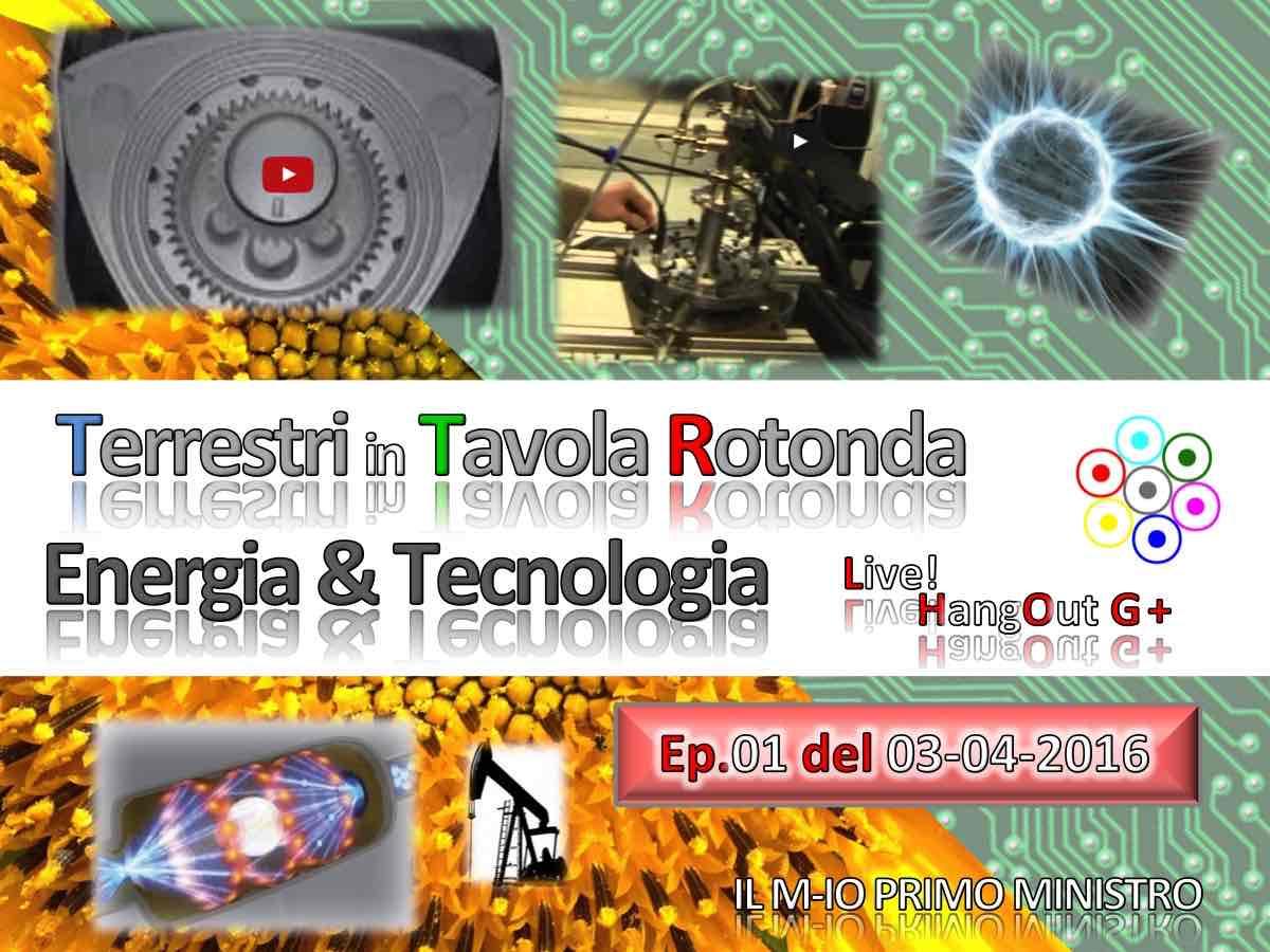 Tavola Rotonda Energia e Tecnologia