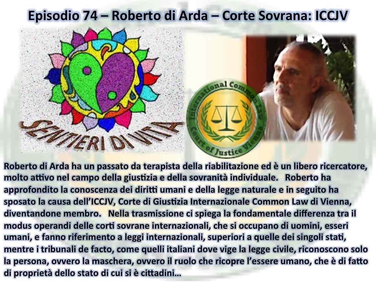 PDC 074 Roberto Arda - Tribunale Sovrano reess